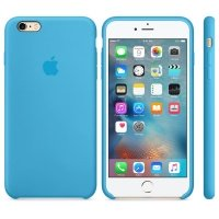 Чехол Apple для iPhone 6/6s Silicone Blue