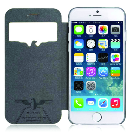 Чехол-книга G-Case Eagle Series Fushion White для iPhone 6