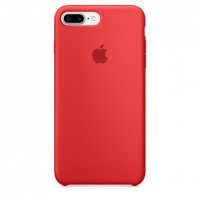 Чехол Apple для iPhone 7/8 Plus Silicone Red