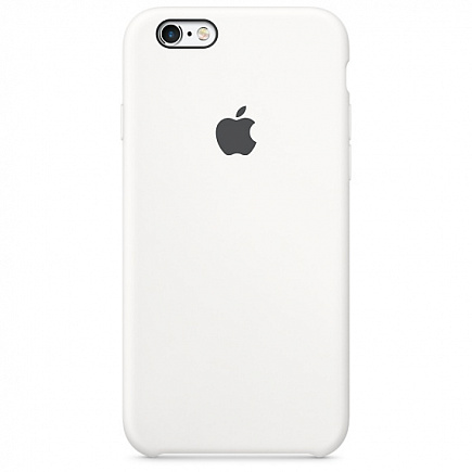 Чехол Apple для iPhone 6/6s Silicone White