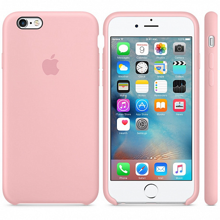 Чехол Apple для iPhone 6/6s Silicone Pink
