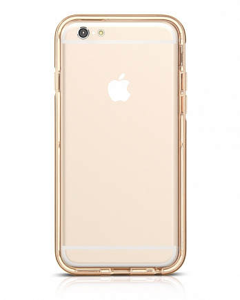 HOCO STEEL SERIES PC TPU SHINING BACK COVER CASE для iPhone 6 Шампань
