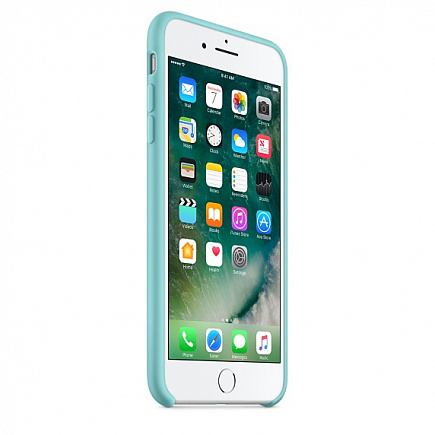 Чехол Apple для iPhone 7/8 Plus Silicone Sea Blue