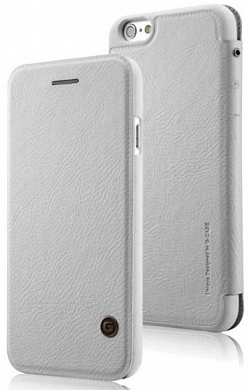 Чехол для iPhone 6 G-Case Folio leather Business Series White