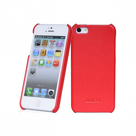 HOCO Duke back cover case для iPhone 5/5s Red
