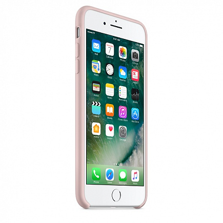 Чехол Apple для iPhone 7/8 Plus Silicone Pink Sand