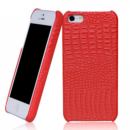 BOROFONE Crocodile Case для  iPhone 5/5s Red